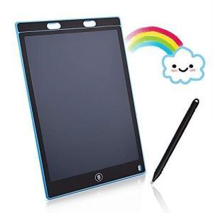 これは お絵かきボード 、12インチ カラフルお絵かきボード 、電子パッド 、電子メモパッド お絵かきおもちゃ ワンタッチ消去 ペン付き 消|r-ainet