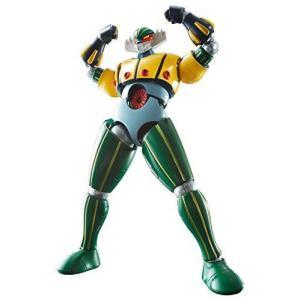 スーパーロボット超合金 鋼鉄ジーグ 約130mm ABS&PVC&ダイキャスト製 塗装済み可動フィギュア|r-ainet