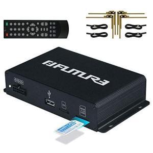 FUTURE 地デジチューナー 車載用 フルセグチューナー 高性能 4×4 地デジタル フルセグ TV チューナー AV HDMI出力対応|r-ainet