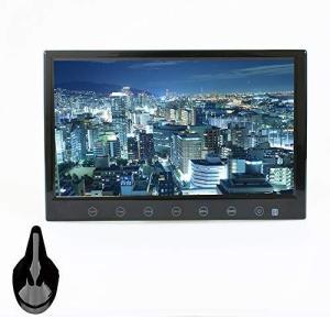 ドリームメーカー フルセグ カーテレビ 9インチ シャークアンテナセット HDMI スタンド付 「TV090B」 (ブラック)|r-ainet