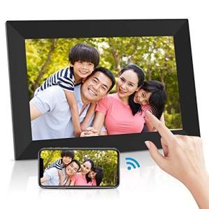 Ranipobo デジタルフォトフレーム 10.1インチ WiFi対応 タッチスクリーン 16GB内部ストレージ 1280*800高解像度 r-ainet
