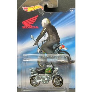1/64 ホンダ モンキー Honda Monkey Z50 ホットウィール Hot Wheels