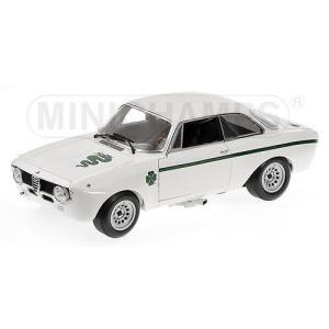 1/18 アルファ ロメオ ジュニア Alfa Romeo GTA 1300 Junior 1972 White ミニチャンプス MINICHAMPS