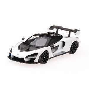 1/64scale MINI GT McLaren Senna White RHD 香港限定品 マク...