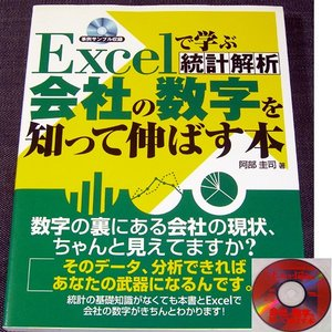 Excelで学ぶ統計解析 ─会社の数字を知って伸ばす本 CD付 r-books