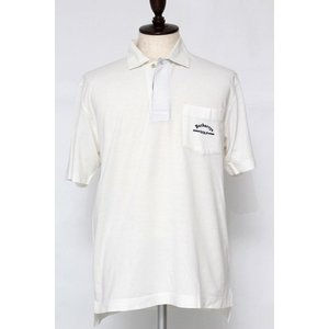 バーバリー メンズ ポロシャツ 半袖 LY(L程度) トップス ゴルフ ゴルフ練習用 オフ白 BUR...