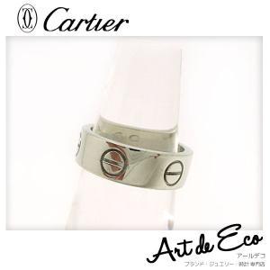 カルティエ Cartier リング 指輪 K18 WG ラブリング 49 8.5号/ブランド/レディース/人気/おすすめ/中古/美品/新品仕上げ済