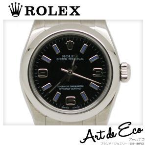 ロレックス 腕時計 オイスターパーペチュアル レディース/ブ...