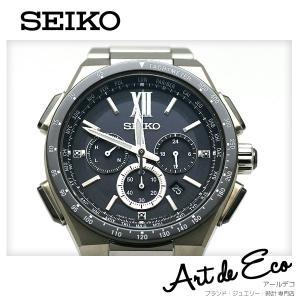 ブランド/ セイコー SEIKO 商品名/ ブライツ 電波ソーラー クロノグラフ 型番/ 8B920...