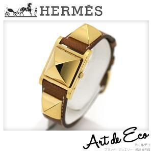 エルメス HERMES 腕時計 メドール レディース クォーツ ME.1.201 ブランド時計 人気 おすすめ 中古 美品|r-deco-online