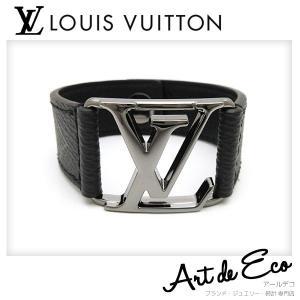 ad2478b7027e10 ルイヴィトン LOUIS VUITTON ブレスレット ブラスレ ホッケンハイム M6295D ブランド メンズ レディース 人気 おすすめ 中古 美品