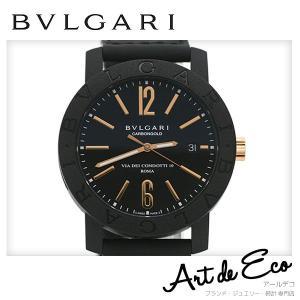 918f85242150 ブルガリ BVLGARI 腕時計 ブルガリブルガリ カーボンゴールド AT BB40CL メッシュストラップ ブランド時計 メンズ 人気 おすすめ  中古 美品