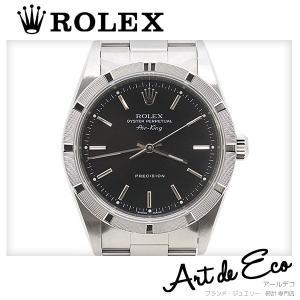 5f8ce5ebb4 ロレックス ROLEX 腕時計 オイスターパーペチュアル エアキング 14010M P番 ブランド時計 メンズ 人気 おすすめ 中古 美品