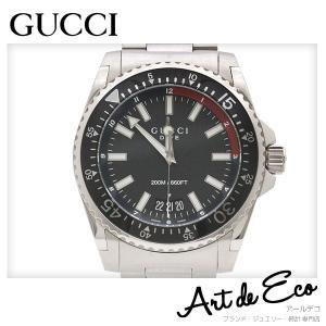 グッチ GUCCI 腕時計 ダイブ DAIVE メンズクォーツ YA136212 ブランド時計 人気 中古 美品 r-deco-online