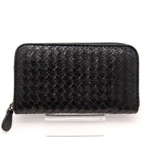 b8024e08ff88 ボッテガヴェネタ BOTTEGA VENETA 長財布 イントレチャート アイヤーズ ジップアラウンド ウォレット 114076 ブランド メンズ  人気 おすすめ 中古 美品