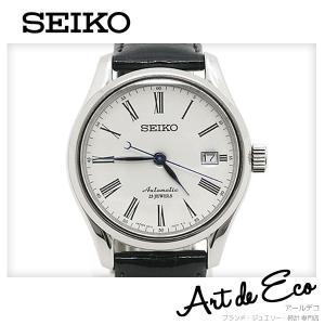 セイコー SEIKO 腕時計 プレザージュ PRESAGE プレステージライン 琺瑯ダイヤル SARX019 AT ブランド時計 メンズ おすすめ 中古 美品|r-deco-online