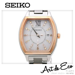 セイコー SEIKO 腕時計 ルキア LUKIA レディースクォーツ SSVW112 1B22 0BB0 スワロフスキー ブランド時計 レディース 人気 おすすめ 中古 美品|r-deco-online