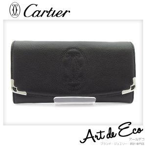 f8e0216cae6d カルティエ Cartier 長財布 マルチェロ ドゥ カルティエ L3001295 ブランド メンズ レディース 人気 おすすめ 中古 美品