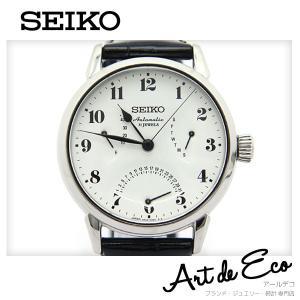 セイコー SEIKO 腕時計 プレザージュ PRESAGE 琺瑯ダイアル SARD007 6RA24-00E0 AT ブランド時計 メンズ おすすめ 中古 美品|r-deco-online