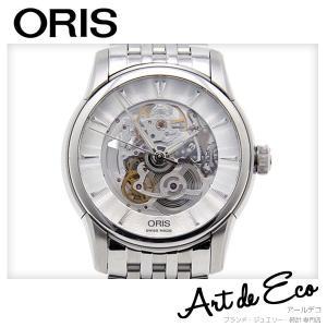 オリス 腕時計 アートリエ スケルトン AT 01 734 7670 4051-07 5 21 70...