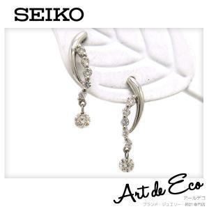 セイコー SEIKO ピアス K18WG ダイヤモンド 9XZ14973 ブランド レディース 人気 おすすめ|r-deco-online