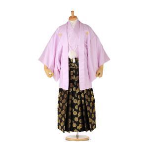 袴レンタル 着物 男 成人式 卒業式 紫系 IAF0001