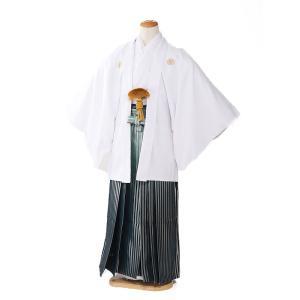 袴レンタル 着物 男 成人式 卒業式 白系 IAF0045