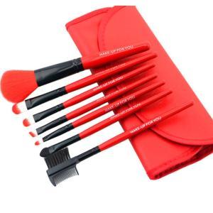 メイクブラシ 7本 セット 化粧 ケース入り プロ仕様 化粧小物