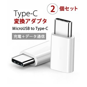 Micro USB to Type C  2個セット変換アダプタ 任天堂スイッチ Nintendo switch USBケーブル 充電 type c 変換コネクタ タイプC|r-lotus