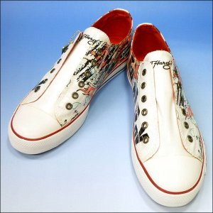 Ed Hardy(エドハーディー) メンズスニーカー 19SLR405M LOWRISE PATENT Shoes Beautiful Ghost|r-one