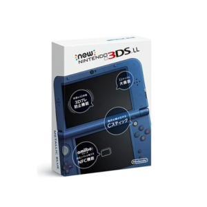任天堂 Newニンテンドー3DS LL本体 メタリックブルー RED-S-BAAA New3DSLL...