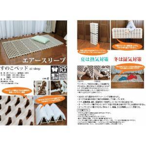 すのこベッド エアースリープ (軽量プラスチック製 蝶プラ工業)|r-style