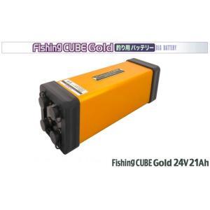 【4/22以降の発送】フィッシングキューブ 24V 21Ah (超深海対応 4系統出力端子搭載 小型軽量バッテリー) 電動リール用バッテリー 八洲電業 Fishing CUBE WG 24V|r-style