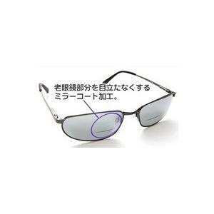 老眼鏡付ミラーコートサングラス|r-style