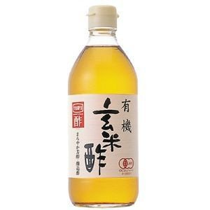 内堀 有機・玄米酢 500ml|raamuufoods-direct