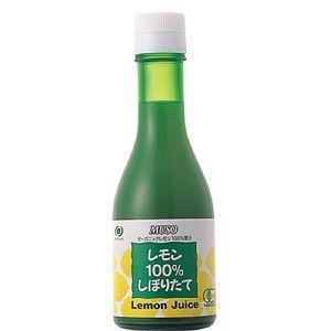 ムソー オーガニックレモン100%しぼりたて 180ml|raamuufoods-direct