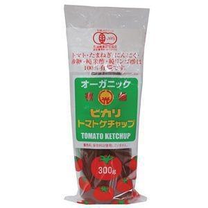 ヒカリ 有機トマトケチャップ・チューブ 300g|raamuufoods-direct