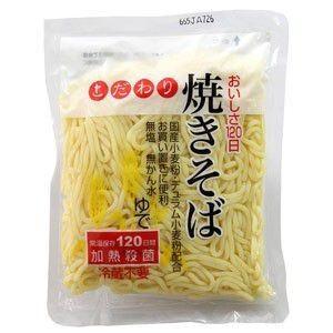 日麺 こだわり焼きそば(LL麺) 170g raamuufoods-direct