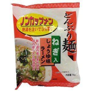 トーエー どんぶり麺・しょうゆ味ラーメン 78g 【4個入】 raamuufoods-direct