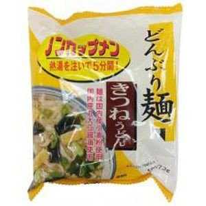 トーエー どんぶり麺・きつねうどん 77.3g 【4個入】 raamuufoods-direct