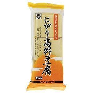ムソー 有機大豆使用にがり高野豆腐 6枚|raamuufoods-direct