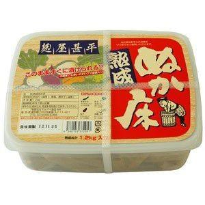 マルアイ 麹屋甚平 熟成ぬか床 容器入 1.2kg|raamuufoods-direct