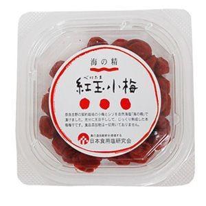 海の精 紅玉小梅 120g|raamuufoods-direct