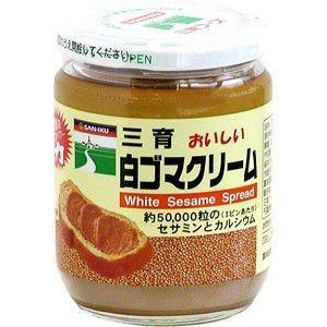 三育 白ゴマクリーム 190g|raamuufoods-direct