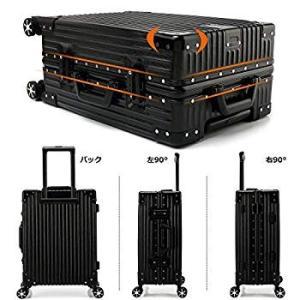 Kroeus(クロース)スーツケース 人気 軽量 4輪ダブルキャスター 静音 キャリーケース 大容量...
