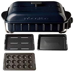 recolte HOME BBQ レコルト ホームバーベキュー + たこ焼きプレート 2点セット R...