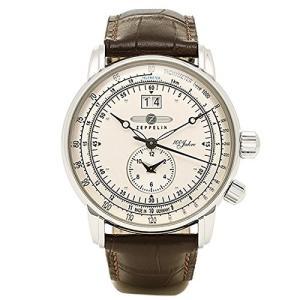 [ツェッペリン] 腕時計 100周年モデル シルバー文字盤 7640-1N 並行輸入品 ブラウン [...
