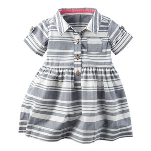 カーターズ Carter's ワンピース Striped Poplin Dress  並行輸入品 rabbitshop