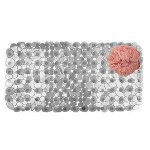 InterDesign Pebblz Bath Mat, Graphite by InterDesign [並行輸入品]|rabbitshop