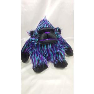 【ワイルドなファンキーコング】紫×黒 カラフルなファンキーコングの新作ゴリラ。デザインから裁断縫製まで全行程国内自社工場で制作 rabbittail-net